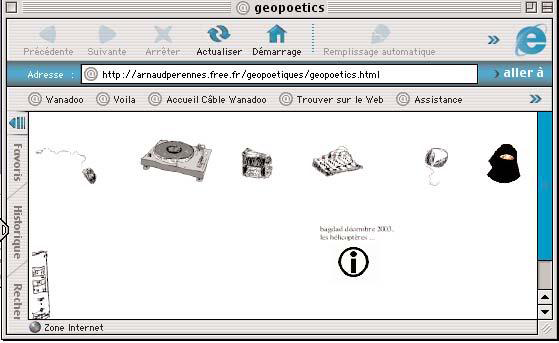 geopoetic musicalle et visuelle